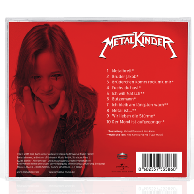 Metalkinder Cover Back